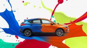 צבע הרכב
